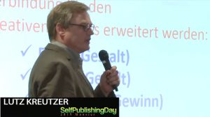 Keynote Speaker beim Self-Publishing-Day